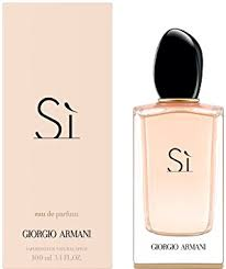 eau de toilette si armani giorgio armani si eau de parfum spray for 100 ml co