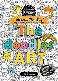 Drawing Coloring For Adult The Doodles Art