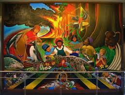 denver airport conspiracy murals a pictorial conspiracy the denver airport murals gov t slaves