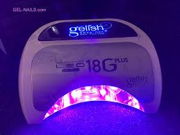 Opi Uv Lamp Wattage by Gelish High Performance Led Gel Light 18 Plus Gel Nails Com