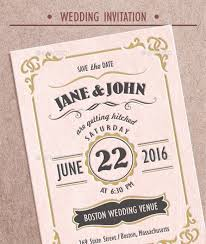 Vintage Wedding Invitation Wording And RSVP Format
