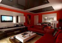 red room design ideas black and red living room interior design