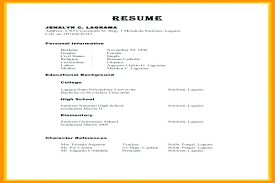 Sample Character Reference Format Resume References Examples In Write For Example Page Template Useful