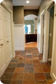 can you paint ceramic tile floors to look like slate floor