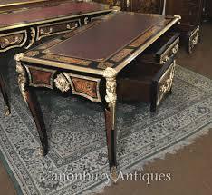 bureau boulle boulle desk writing table buhl inlay bureau plat