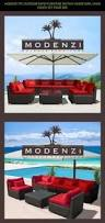 Outsunny Patio Furniture Instructions by Outsunny 5 Piece Outdoor Rattan Wicker Furniture Set Shopping