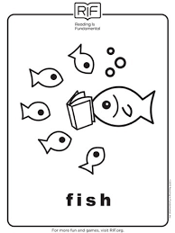 Printable Reading Animal Coloring Pages