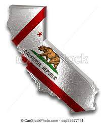 This Is A 3d California State With Flag And Marijuana Leaf Design Also Comes For Easy Editing