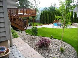 Backyards: Excellent Houzz Backyard Landscaping. Houzz Backyard ... Garden Design With Deck Ideas Remodels Uamp Backyards Excellent Houzz Backyard Landscaping Appealing Patio Simple Brilliant Pool Designs For Small Best Decor On Tropical Landscape Splendid 17 About Concrete Remodel 98 11 Solutions Your The Ipirations