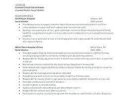 Hospice Resume Social Work Examples Exceptional Worker Sample Tasks