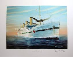 Brittanic Sinking by Original Paintings By Stuart Williamson