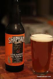 Shipyard Pumpkin Ale Recipe by Review Shipyard Brewing Smashed Pumpkin Food Embrace