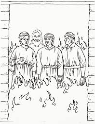 Shadrach Meshach And Abednego Coloring Page Pr 28684 Pictures