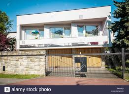 100 Semi Detached House Design Detached House In Modern Style From 1960s Stock Photo