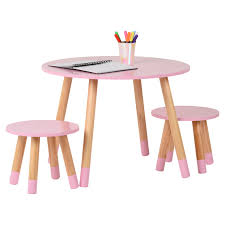 Detalles De Mesa Redonda De Madera Hartleys Niños Rosa Y 2 Sillas Conjunto  Childrens Bedroom Playroom- Ver Título Original Linon Jaydn Pink Kid Table And Two Chairs Childrens Chair Mammut Inoutdoor Pink Child Study Table Set Learning Desk Fniture Tables Horizontal Frame Mockup Of Rose Gold In The Nursery Factory Whosale Wooden Children Dressing Set With Mirror Glass Buy Tablekids Tabledressing Product 7 Styles Kids Play House Toy Wood Kitchen Combination Toys Ding And Chair Room 3d Rendering Stock White 3d Peppa Pig 3 Piece Eat Unfinished Intertional Concepts Hot Item Ecofriendly School Adjustable Blue