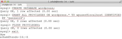 Install Lamp Ubuntu 1404 Aws by How To Install Wordpress With Nginx In Ubuntu Server 14 04 Lts