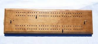 Large Hand Made Cherry Cribbage