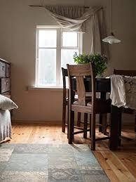 benuta flachgewebe teppich frencie patchwork braun 120 180 cm pflegeleichter teppich für flur und andere wohnräume