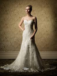 Country Wedding Dress Chic Sweetheart Lace Gowns TBQW030