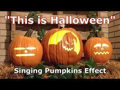 Singing Pumpkins Grim Grinning Pumpkins Projector by Monster Mash Singing Pumpkins Animation Youtube Halloween