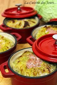 cuisine en cocotte petits choux farcis en mini cocottes au four la cuisine des jours