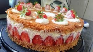 erdbeer käse sahnetorte