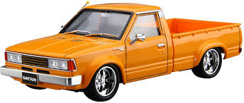 100 Datsun Truck Aoshima 124 The Tuned Car No22 Nissan Custom 82 Model KitJapan Import