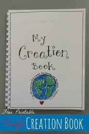 Printable Halloween Books For Preschoolers by Creation Book Free Printable Happy Home Fairy