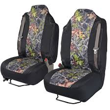 100 Pickup Truck Seat Covers BDK Camouflage For Built In Belt