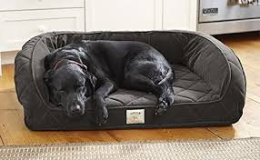 orvis memory foam bolster only small dogs up to 40 lbs slate