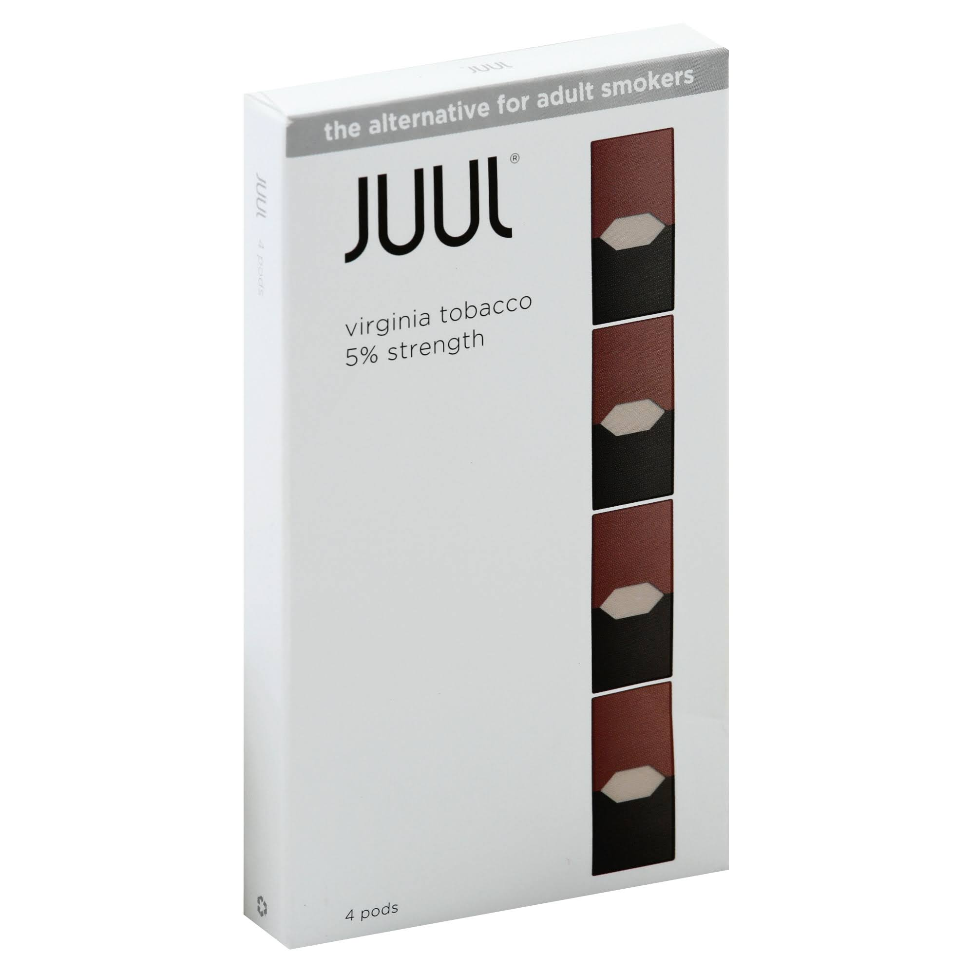 JUUL Pods, Virginia Tobacco - 4 pods