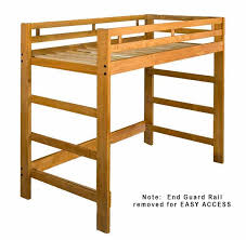Timbernest Loft Bed by Raised Bed Frame Stor Loft Bed Frame By Ikea View Of The Garden