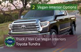 100 Truck Trim Toyota Tundra Van Truck Vegan Interiors Kindly Geek