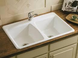 Kohler Executive Chef Sink Biscuit by Kohler Cast Iron Sink Kohler Cast Iron Sink Kitchen With Backless