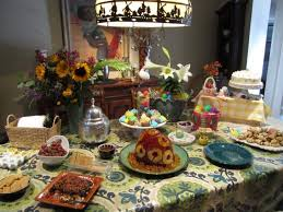 Easter Table Decorations Awesome Buffet Billingsblessingbags