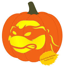 Ghostbusters Pumpkin Stencil Free by Turtle Pumpkin Clipart Collection