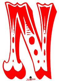 Alphabet Letter Mosaic N Vector Images 64