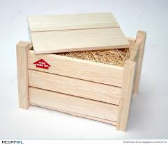 Wooden Crate Stock Photo 341016