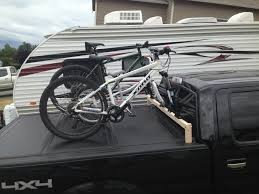 Bike Rack For Truck Bed Cover | Bicycle Gallery And News Removable Bike Rack For Truck Toolbox 5 Steps With Pictures Mt Bike Rack Suburban Side Mount Mtbrcom Racks Pickup Trucks Bicycle Gallery And News Thule Aero Bars Mounted On Truck Bed Nissan Frontier Forum Capitol Outdoor Formssurfaces Diy Homemade Fat In The Of A 2012 Ford F150 Best Transport Advantage Bedrack 4 Bicycles Discount Ramps Diy Wood Swagman Patrol Bed Wood