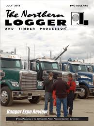 May 2013 Cover - Northeastern Loggers' Association