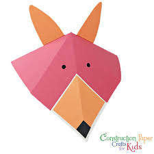 Get The Book Construction Paper Crafts For Kids