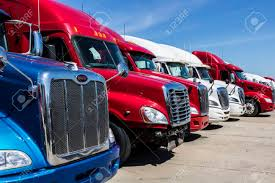 100 Trailer Trucks For Sale Indianapolis Circa June 2017 Colorful Semi Tractor