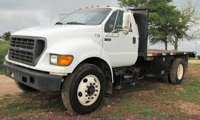 2001 Ford F650 Super Duty 18' Flatbed Truck | Item 3135 | SO...