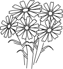 New Coloring Book Flower Awesome Learning Ideas