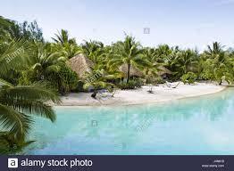 polynesia bora bora le meridien resort stock photo