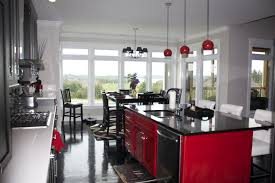 Large Size Of Kitchencontemporary Black And Red Kitchen Decor Small Ideas