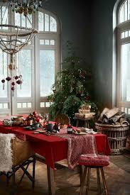 1001 ideen für weihnachtstischdeko als ergänzung der