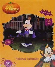 Disney Halloween Airblown Inflatables by Disney Inflatable Halloween Décors Ebay