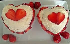 rezept mini herztorte mit erdbeeren