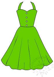 Green Summer Dress Women